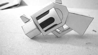 Cool Papercraft Revolver!