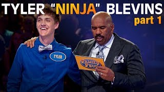 "Tyler ""NINJA"" Blevins plays the Feud! 
