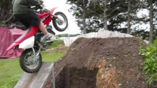 double backflip 8yr old kid on bike