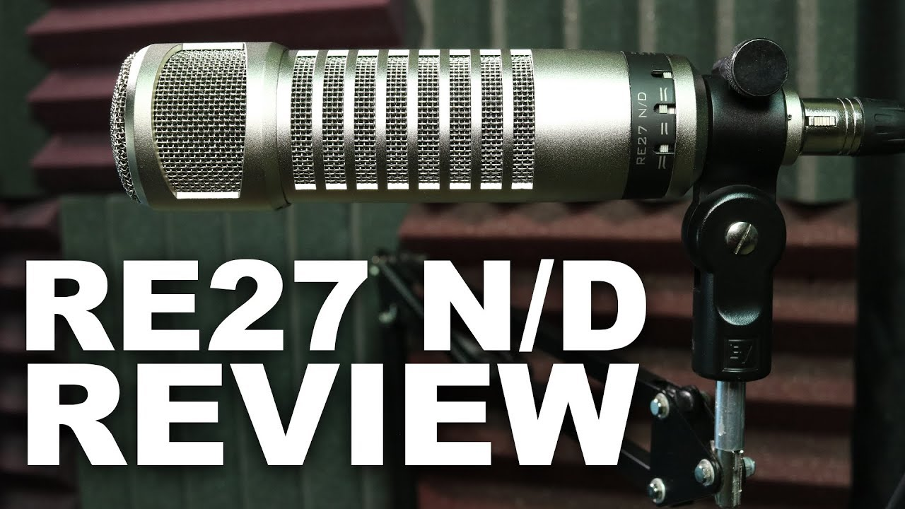 electro voice re27 n d broadcast dynamic mic review test youtube. Black Bedroom Furniture Sets. Home Design Ideas