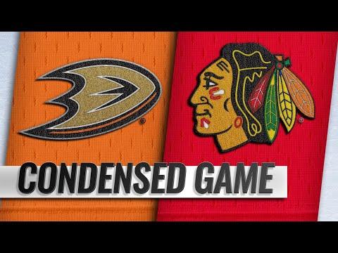 10/23/18 Condensed Game: Ducks @ Blackhawks