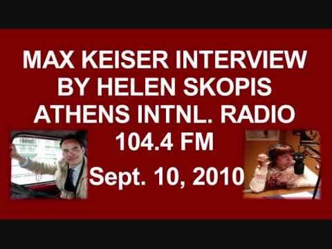 """""""Greece as a viable economy is finished"""" - Max Keiser/Helen Skopis"""