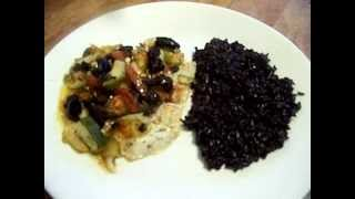 Cucumber Dill  Vinaigrette Flounder Rice 3/3 Chef John The Ghetto Gourmet Show
