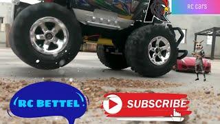 #RC Edition🔥RC battle: Ferrari vs RC truck (Ferrari passed under the helicopter)