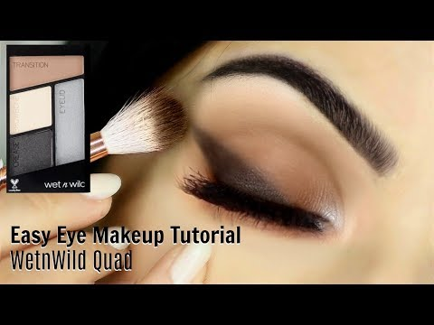 Beginners Eye Makeup Tutorial Using WetnWild | Parts of the Eye | How To Apply Eyeshadow