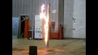 Испытания опорного изолятора 220 кВ ч.2 (Test post insulator)(Группа Вконтакте: http://vk.com/electrosnabzh Помощь каналу (WebMoney): Z167180104465., 2013-07-18T16:15:05.000Z)