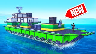 NEW BOAT Build Challenge In FORTNITE! (Creative Mode)