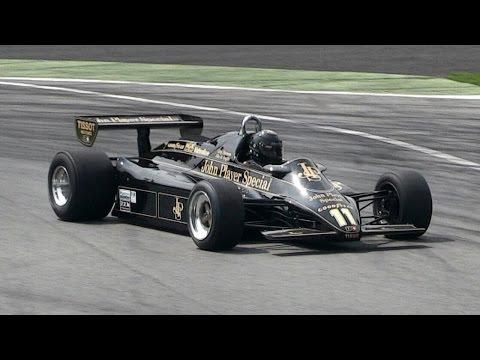 FIA Masters Historic F1 Championship 2015 Monza - Ford Cosworth DFV V8 Sound