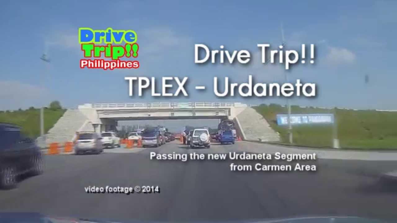 drive trip   - tplex urdaneta segment    philippines