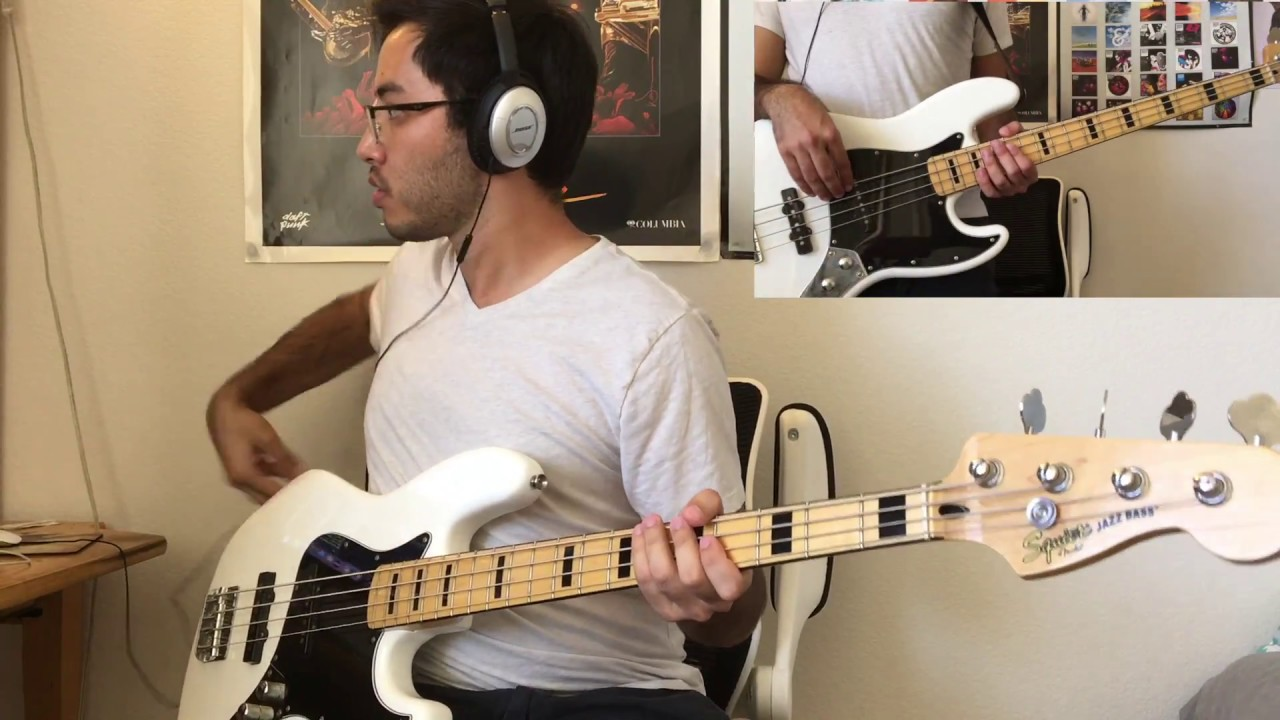 Muse - Supermassive Black Hole Bass Cover (Tab in ...