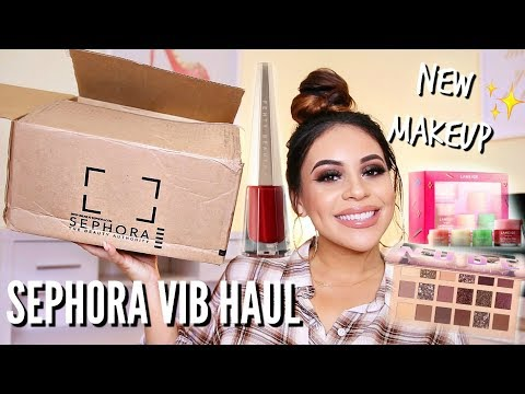 SEPHORA VIB SALE HAUL 2018: WHAT'S NEW AT SEPHORA! | JuicyJas