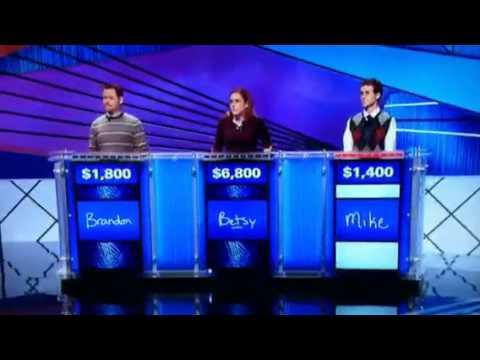 Donkey Punch on Jeopardy! HyperVocal vid