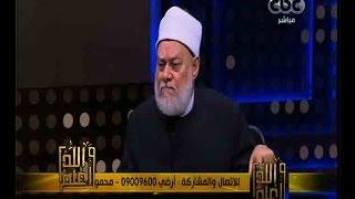 بالفيديو.. على جمعة: الله أرسل سيديهات مع جبريل للأنبياء