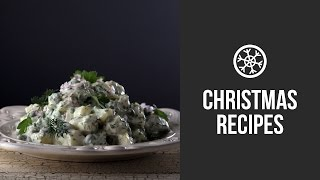 Christmas Potato Salad || Gastrolab Christmas Dinner || Christmas & New Year 2015 Recipes