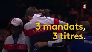 Coupe Davis : Yannick Noah, le capitaine gagnant !