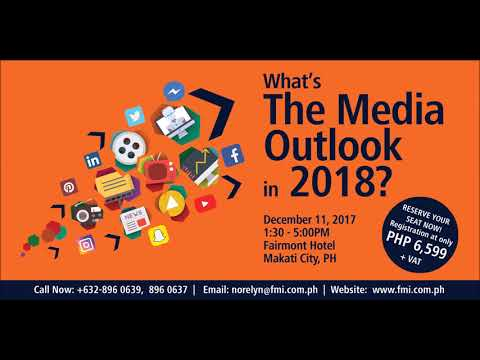 Media Outlook 2018 Radio Ad