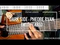 Pheobe Ryan - Dark side   QUICK GUITAR LESSON