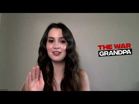 "Laura Marano & ""The War With Grandpa"" Cast Spill BTS Secrets"