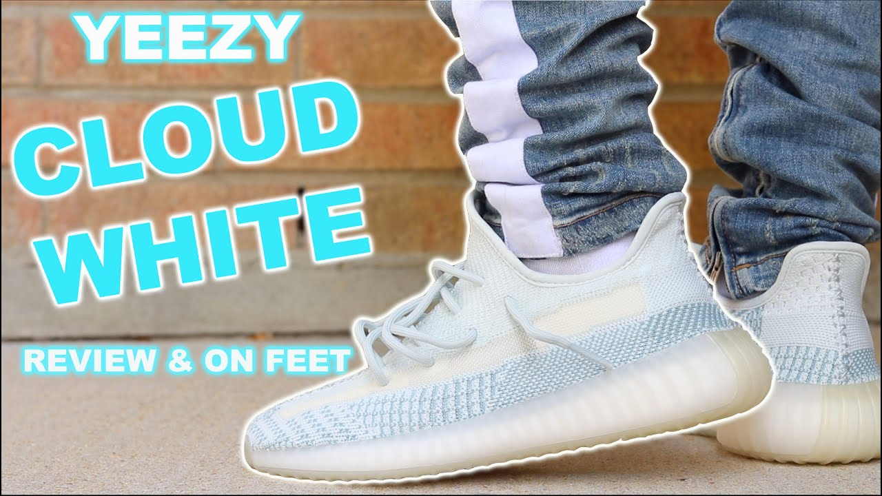 Adidas Yeezy 350 v2 Cloud White Review