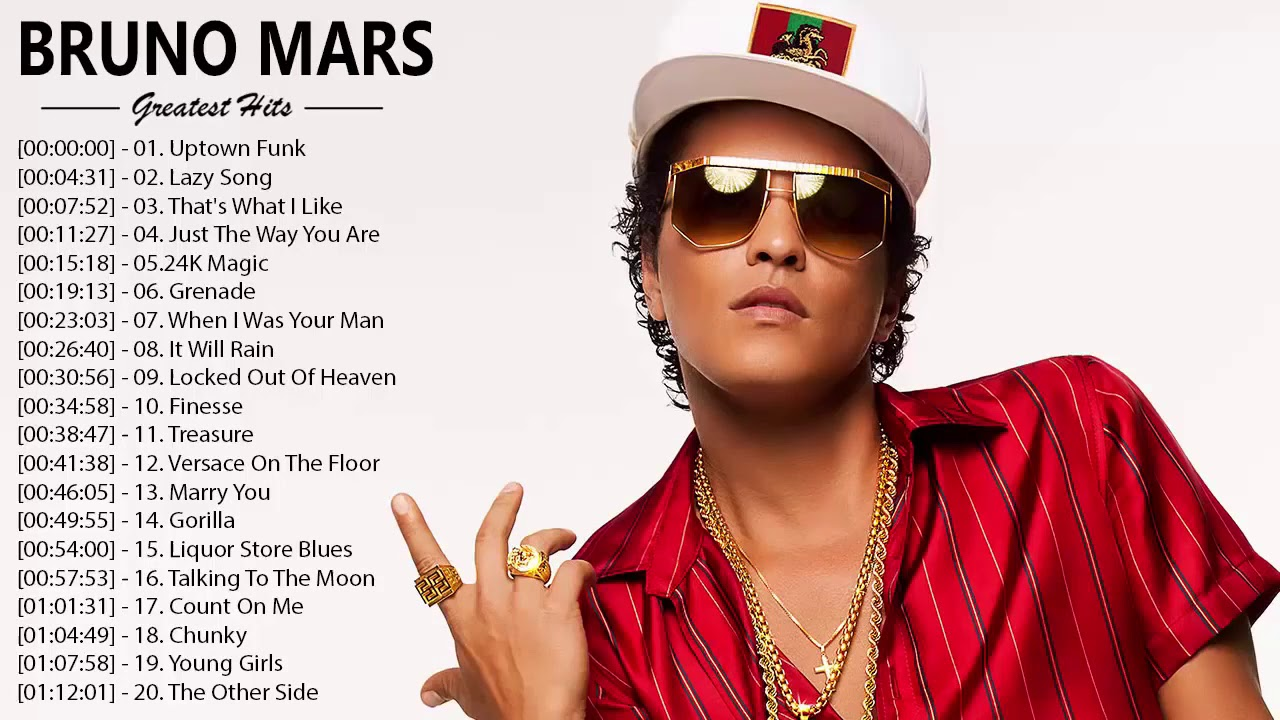 Kumpulan Lagu Barat Terbaru 2020 - Kumpulan Lagu Bruno Mars Full Album 2020