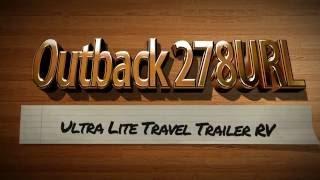 keystone ouback 278url ultra lite travel trailer rv for sale in pennsylvania lerch rv