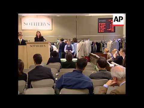 UK: LONDON: SOTHEBY'S HISTORIC ITEMS AUCTION