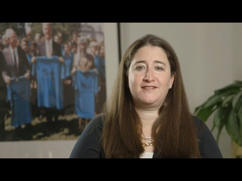 What Peace means - Leslie Lewin -  Executive Director of Seeds of Peace