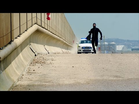 Donna and Jake's police chase - Cuffs: Episode 6 Preview - BBC One