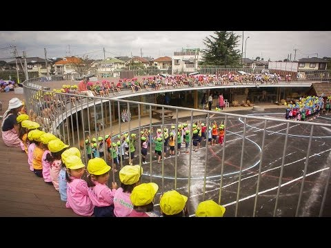 The best kindergarten you've ever seen | Takaharu Tezuka