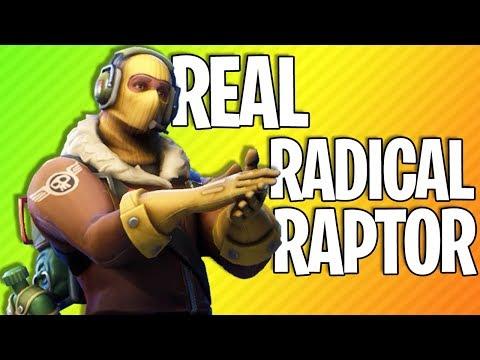 REAL RADICAL RAPTOR | Fortnite Battle Royale