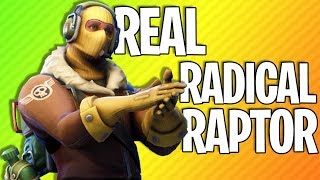 REAL RADICAL RAPTOR | Fortnite Battle Royale