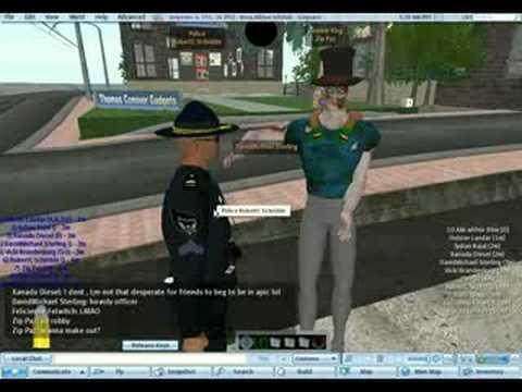 secondlife cops LOL