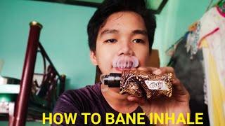 Vape Trick Tutorial : H๐w To Bane Inhale (Tagalog)