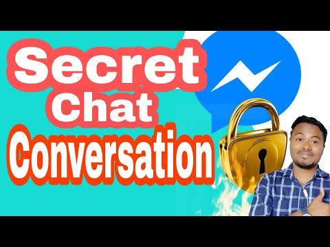 Facebook Messenger Secret Conversation Or Private Chat Encrypted 2019