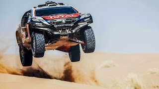 Team Peugeot Total Rips Through Morocco in the Peugeot 2008 DKR