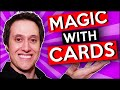Magic With Cards - Magic Videos (Rubber Band Tricks)