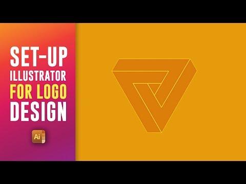 HOW TO SET UP ILLUSTRATOR FOR LOGO DESIGNING - Guide To Illustrator Logo Designing