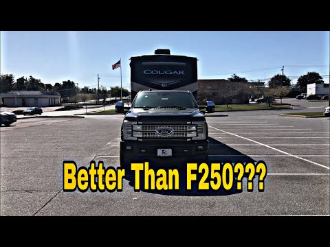 Does This Ford F-350 Handle Pin Weight From A Fifth Wheel Better Than The F-250???