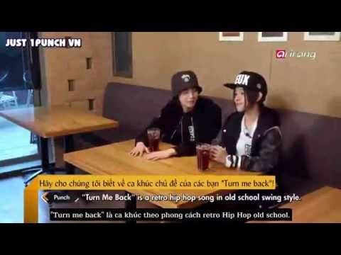 [Vietsub] 150224 1PUNCH - Pops in Seoul (Turn me back)