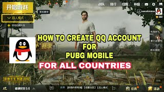 Gambar cover How to create qq account for PUBG Mobile for all countries Solution For Qq error.