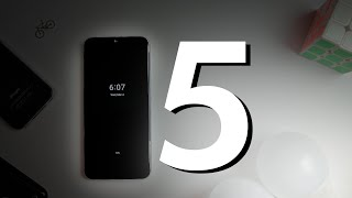 Top 5 Features in Android 10 Mi A3 Update