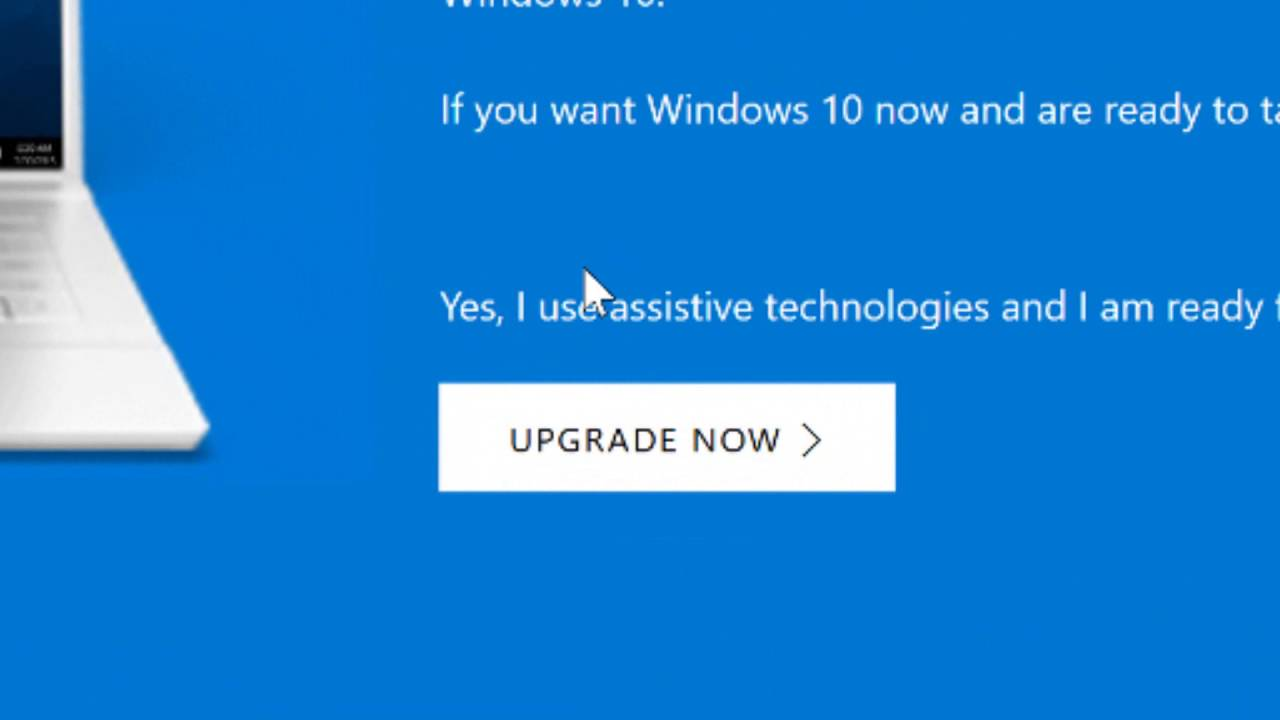 You Can Still Upgrade to Windows 10 For Free - YouTube
