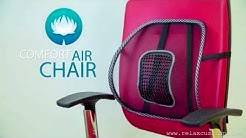 Comfort Air Chair Relax Cushion Back Support