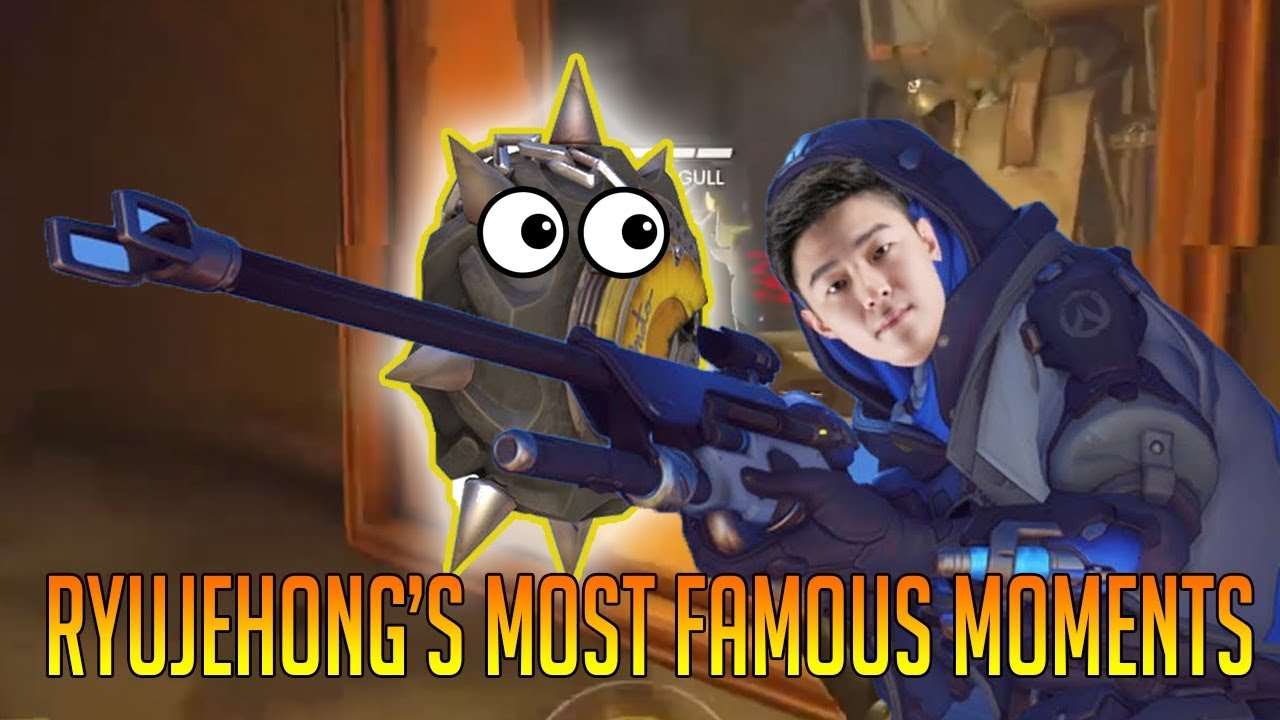 [Overwatch] Ryujehong's Most Famous Moments