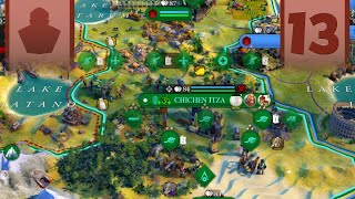 Civ 6 Gaul Deity Gameplay - What Do I Do With All This Production? - Part 13