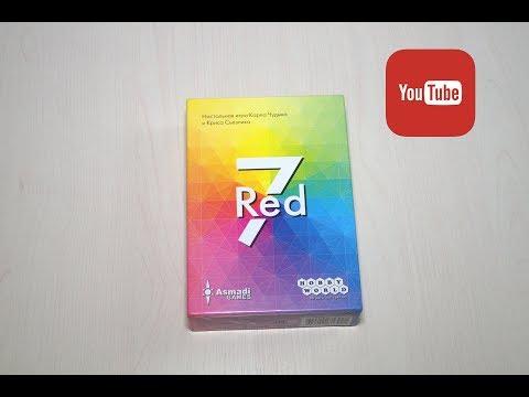 Red 7 обзор и правила игры!