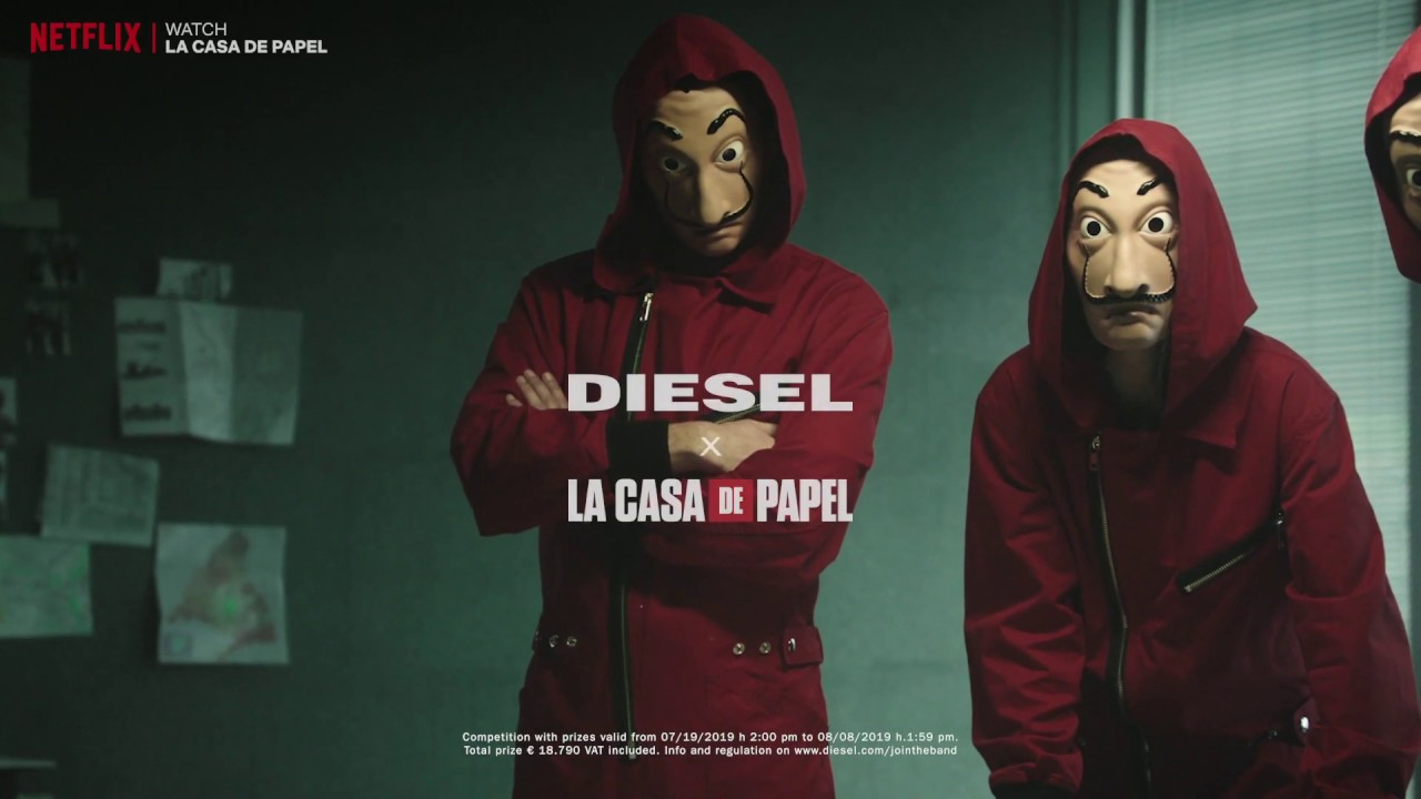 Diesel X La Casa De Papel Youtube