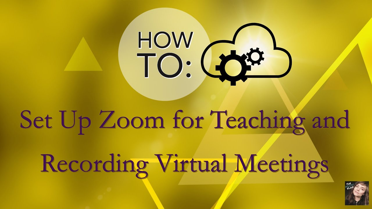 Zoom Settings Tutorial: Hacks for Recording Webinars, Online Presentations, & Remote Classrooms