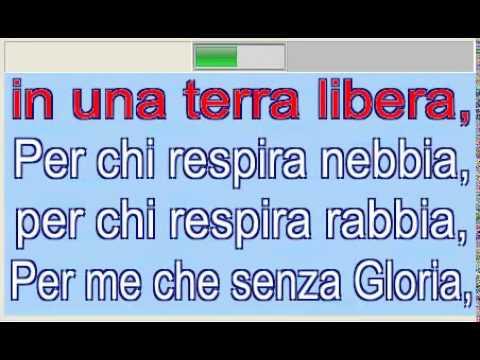 Gloria - Umberto Tozzi karaoke senza voce