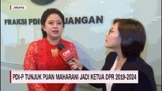 PDIP Tunjuk Puan Maharani Jadi Ketua DPR 2019-2024